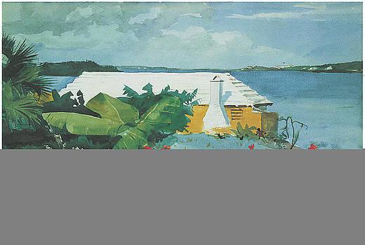 Winslow Homer  - Flower garden and Bungalow Bermuda