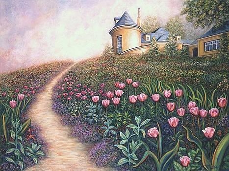 Linda Mears - Flower Garden Pathway