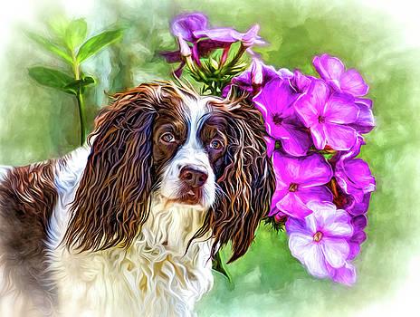 Flower Girl 3 by Steve Harrington