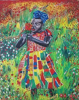 Flower Girl by Adekunle Ogunade