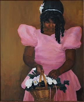 Flower Girl by L Stephen Allen