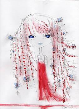 Flower girl  by Nino Gabashvili