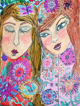 Flower Girls by Victoria Hasenauer