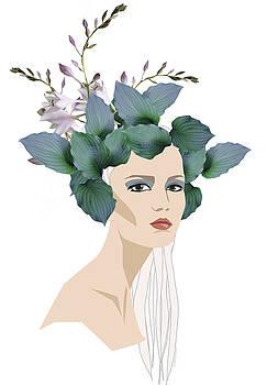 Flower hat by Johanna Virtanen
