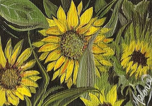 Flower Head by Melonie King