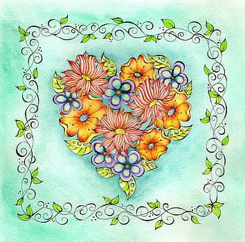 Flower Heart by Adrienne Allen