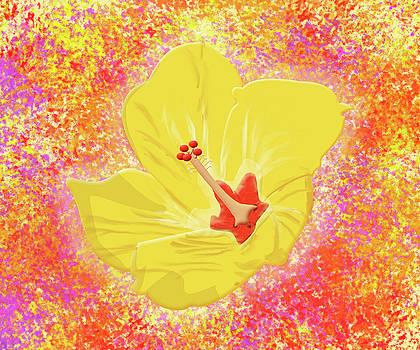 Flower in Bloom by Melissa Stinson-Borg