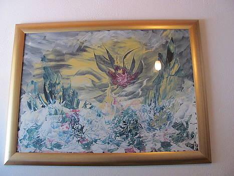 Agava Flower in storm by Vlado Katkic