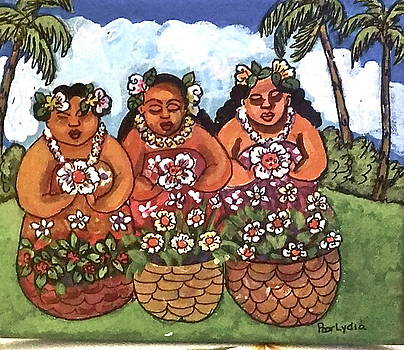 Flower Ladies by Lydia Matias