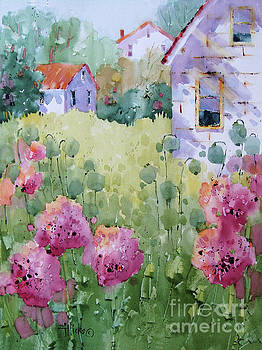 Flower Lady's Poppies by Joyce Hicks