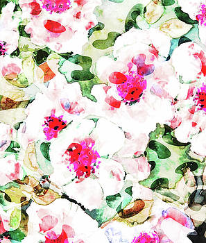 Flower Love by Uma Gokhale