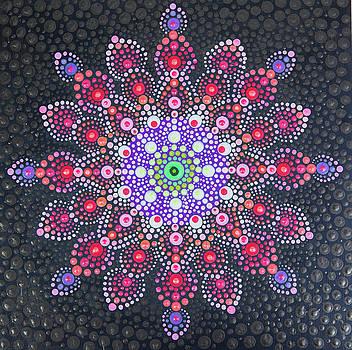Dee Carpenter - Flower Mandala