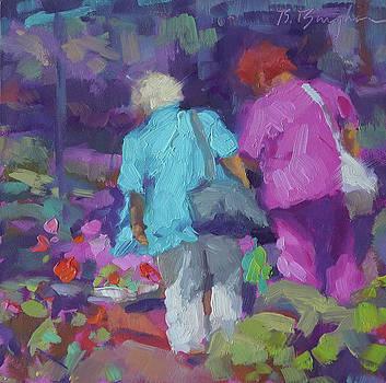 Flower Market by Bruce Bingham