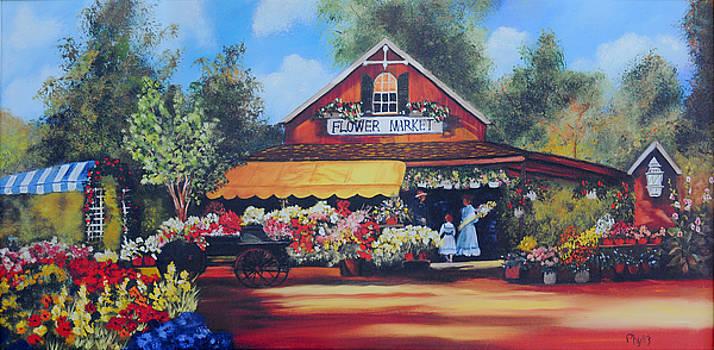 Flower Market by Phyllis Miller