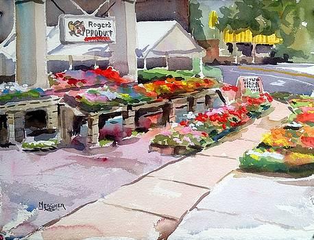 Flower Market by Spencer Meagher