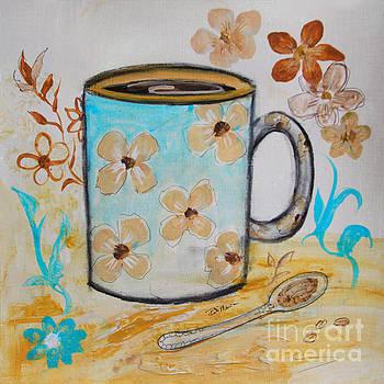 Flower Mug by Robin Maria Pedrero