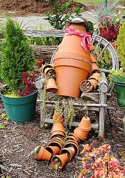 Allen Nice-Webb - Flower Pot Person