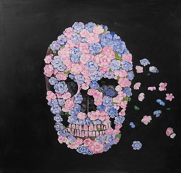 Flower Skull by Atelier B Art Studio