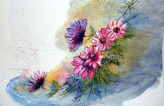 Flower spray by Sibby S