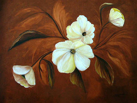 Flower Study by Carol Sweetwood