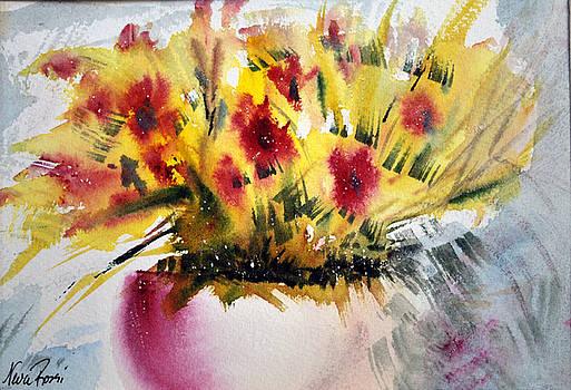 Flower Study III by Neva Rossi