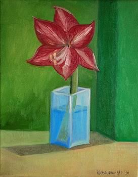 Flower Study by Kostas Koutsoukanidis