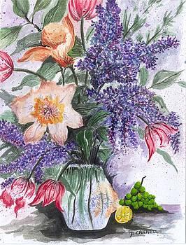 Flower study nineteen by Darren Cannell