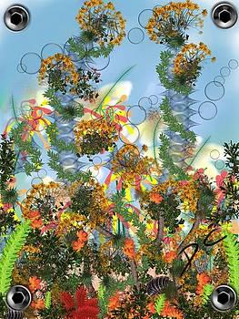 Flower study six by Darren Cannell