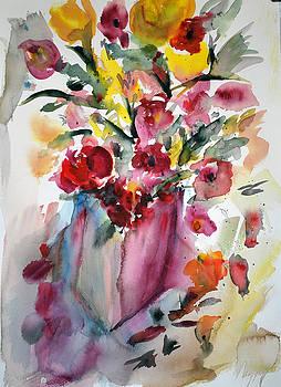 Flower Study V by Neva Rossi