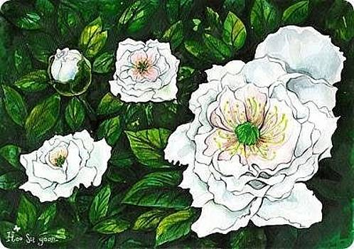 Flower by Su Yean  Heo