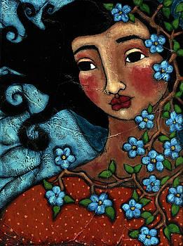 Flower Tree Angel by Julie-Ann Bowden
