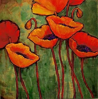 Flower Tribune by Carol Nelson