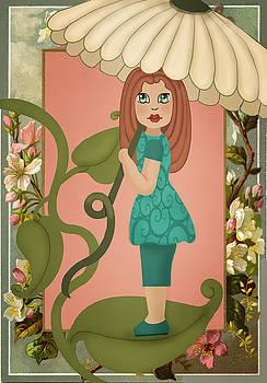 Flower Umbrella by Lee DePriest