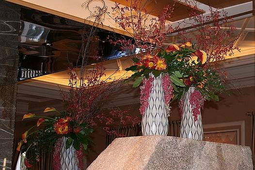 Flower Vases Displayed by Shelly Davis