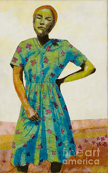 Flowered Dress by Andrea Benson