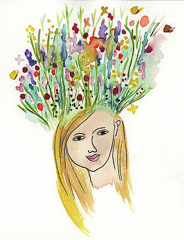 Flowerhead by Claud Brown
