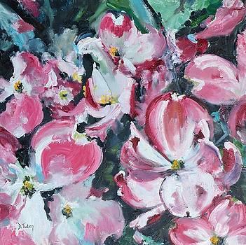 Flowering Dogwood by Donna Tuten