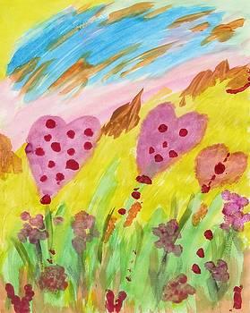 Flowering heARTs by Susan Schanerman
