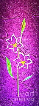 Flowermagic 21 Lilie by Walter Zettl
