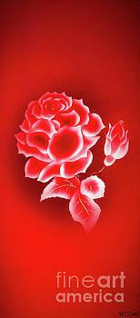 Flowermagic 22 Rose by Walter Zettl