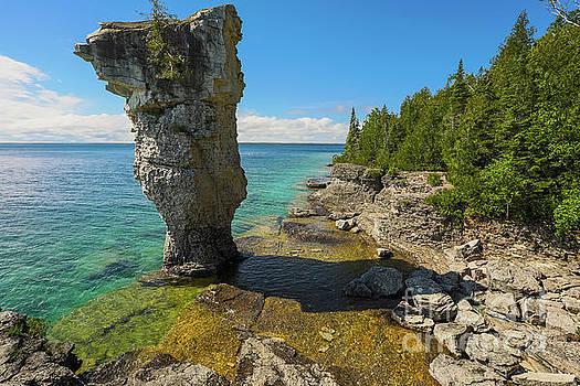 Flowerpot Island - Ontario Canada by Matt Trimble