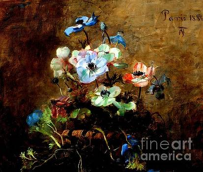 Peter Gumaer Ogden - Flowers 1886