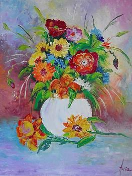 ''Flowers 2'' by Asia Dzhibirova