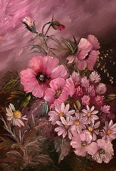 Flowers 2 by Ibolya Marton