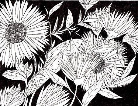 Flowers 2 by Lou Belcher