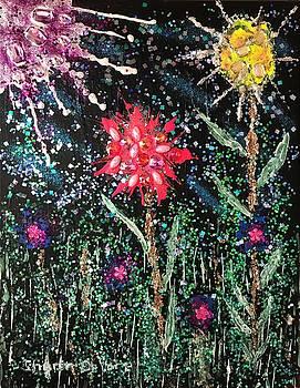 Flowers 2 by Sharon De Vore