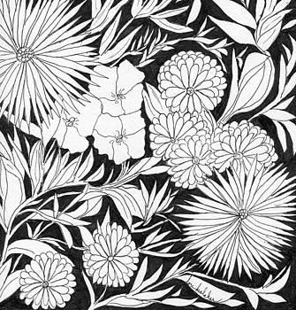 Flowers 3 by Lou Belcher