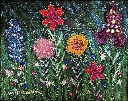 Flowers 3 by Sharon De Vore