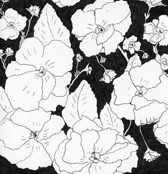 Flowers 4 by Lou Belcher