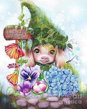 Flowers 4 Sale - Garden WhimZies Collection by Sheena Pike